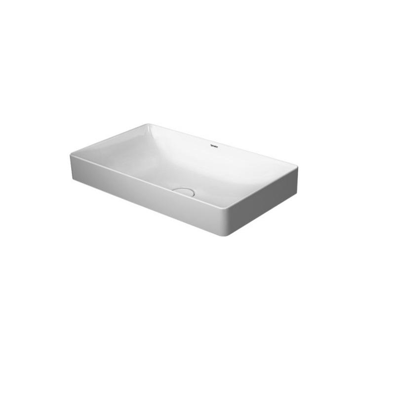 DURAVIT DuraSquare 60 x 34,5 cm umývadlo na dosku 2355600000