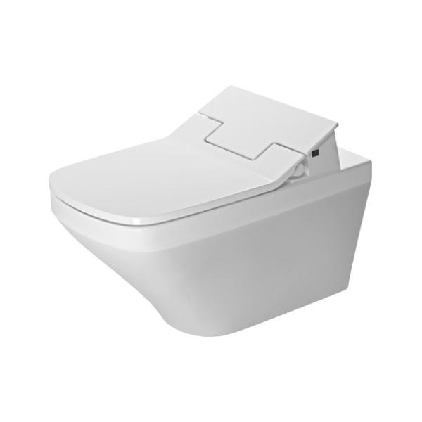 DURAVIT DuraStyle - Elektronická bidetová doska SensoWash Slim s keramikou, Rimless, SoftClose, alpská biela 631001002004300