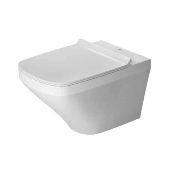 DURAVIT DuraStyle závesn WC misa 37 x 54 cm Rimless, upevnenie Durafix, biela s glazúrou Hygiene Glaze 2551092000