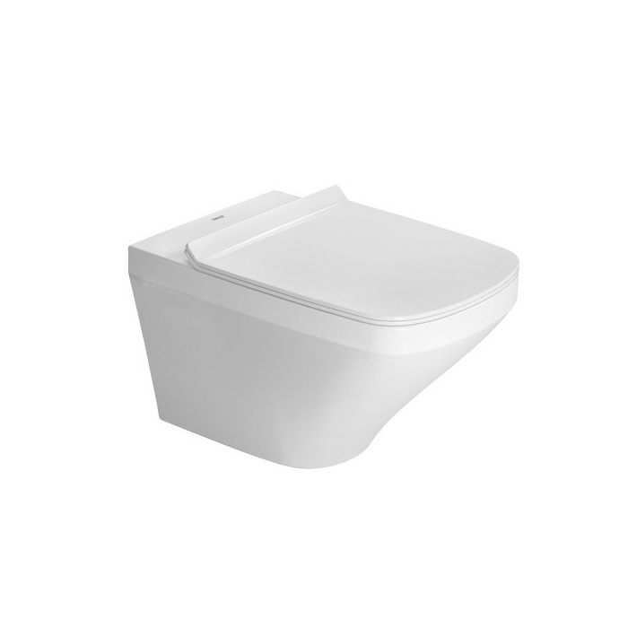 DURAVIT DuraStyle závesná WC misa 37 x 54 cm Rimless, upevnenie DURAFIX, biela 2551090000