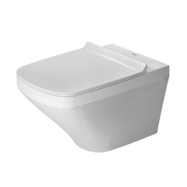 DURAVIT DuraStyle - Závesné WC, sedadlo SoftClose, Rimless, alpská biela 45510900A1SET