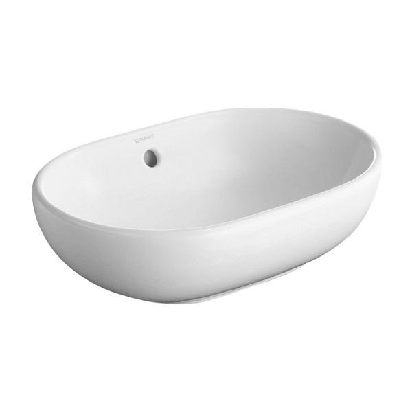 DURAVIT Forster umývadlo na dosku 50 x 35,2 biele 0335500000
