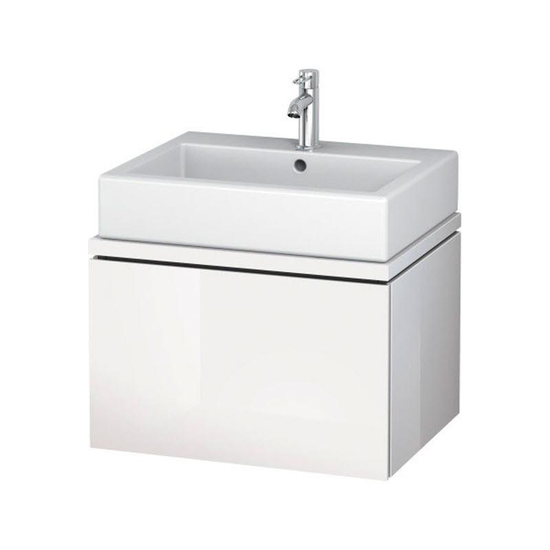 DURAVIT L-CUBE skrinka pod umývadlo pod dosku biela LC681102222