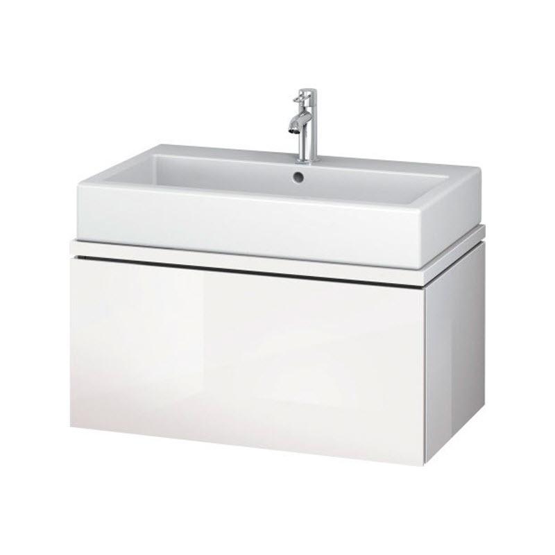DURAVIT L-CUBE skrinka pod umývadlo pod dosku biela LC681202222