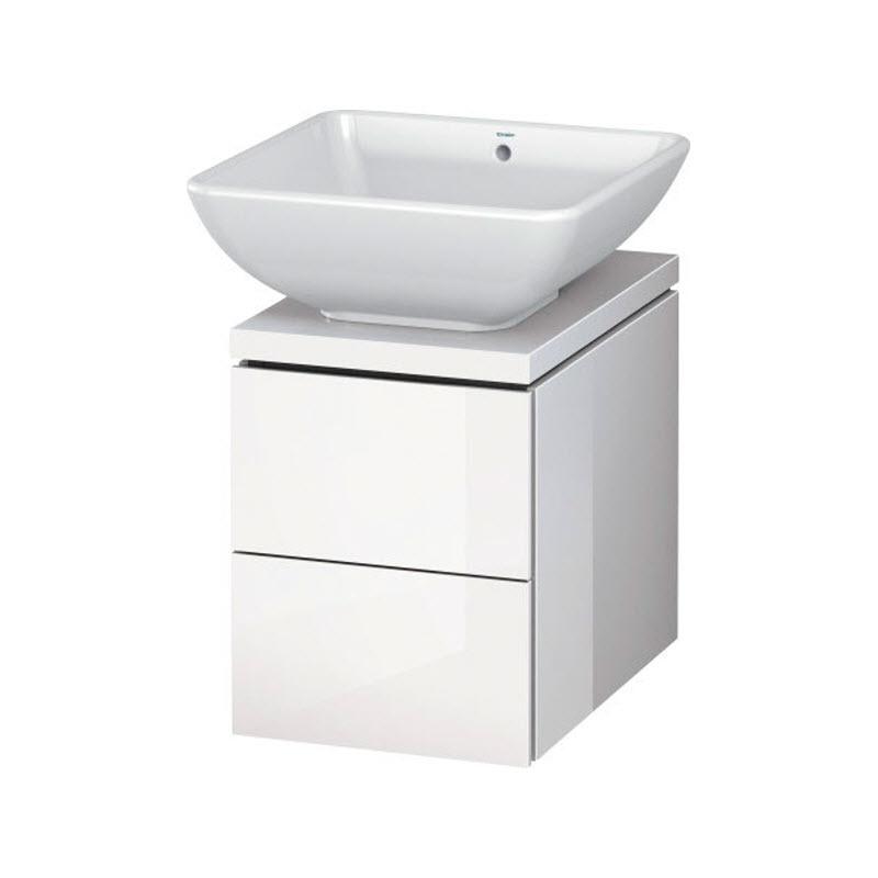 DURAVIT L-CUBE skrinka pod umývadlo pod dosku biela LC681802222