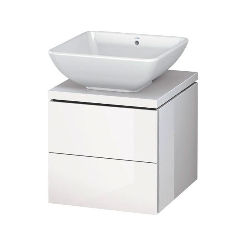 DURAVIT L-CUBE skrinka pod umývadlo pod dosku biela LC681902222