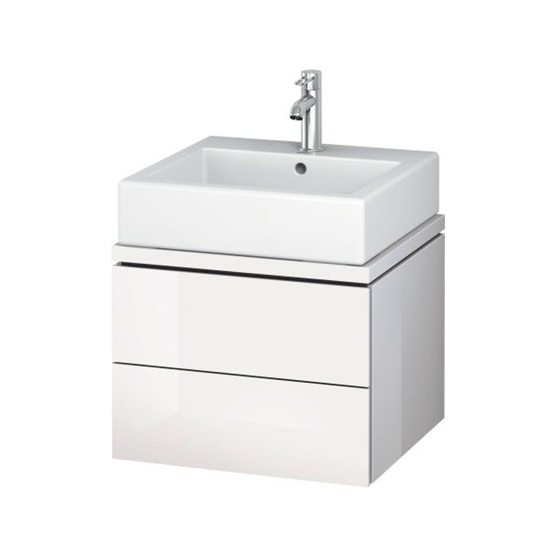 DURAVIT L-CUBE skrinka pod umývadlo pod dosku biela LC682002222