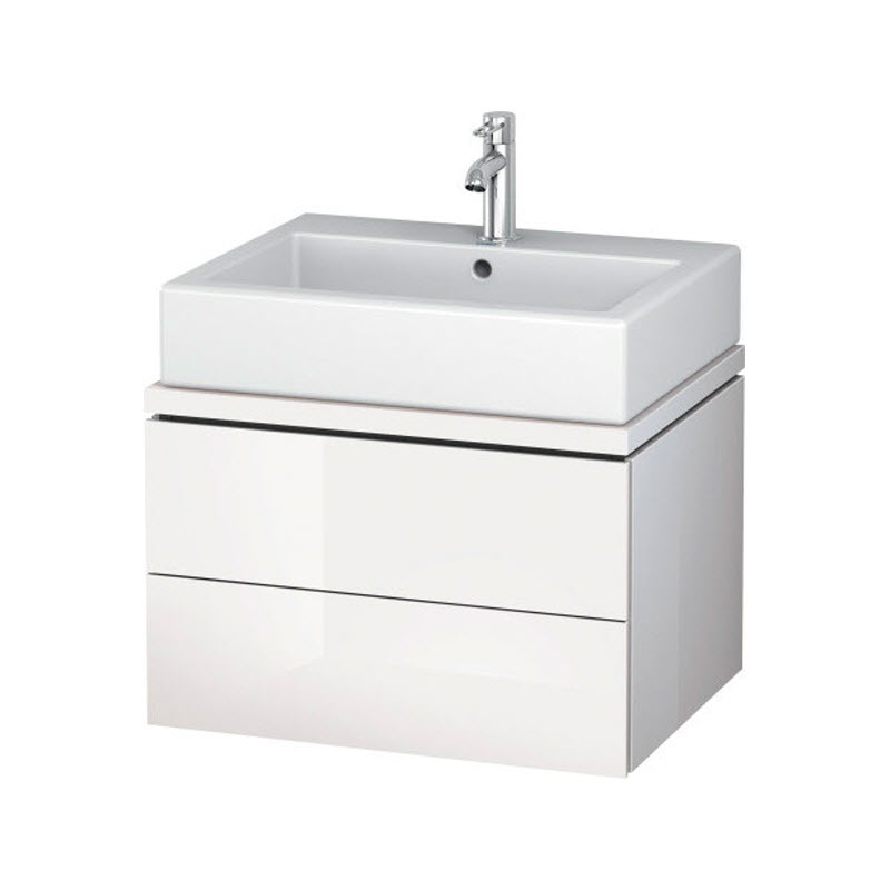 DURAVIT L-CUBE skrinka pod umývadlo pod dosku biela LC682102222