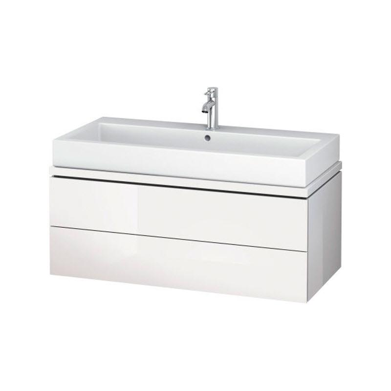 DURAVIT L-CUBE skrinka pod umývadlo pod dosku biela LC682302222