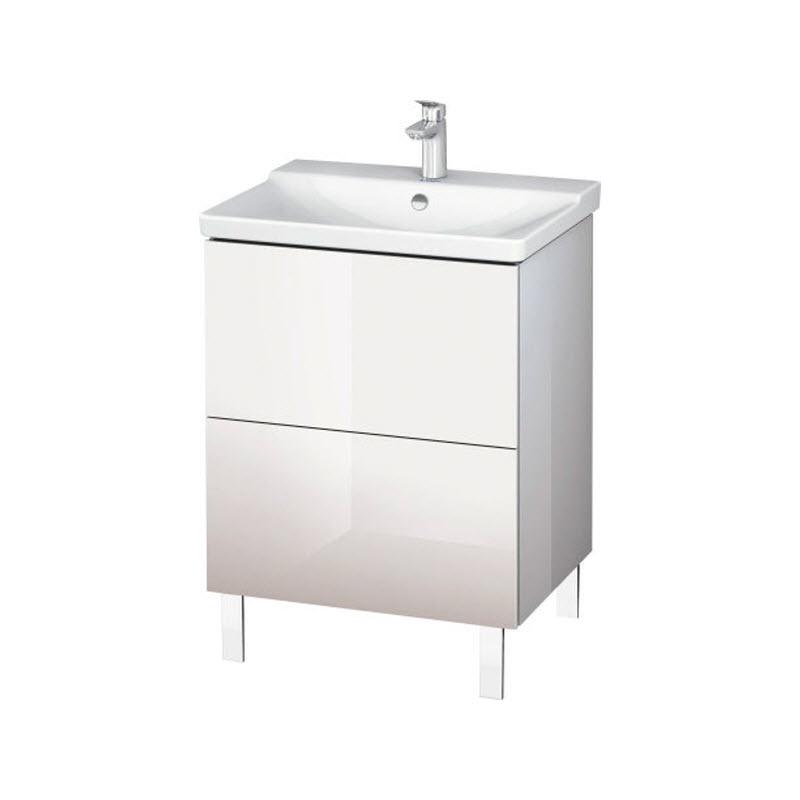 DURAVIT L-CUBE skrinka pod umývadlo stojaca biela LC660002222