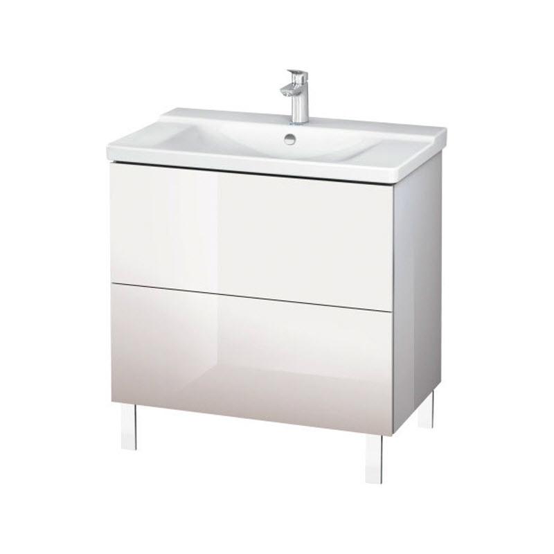 DURAVIT L-CUBE skrinka pod umývadlo stojaca biela LC660102222