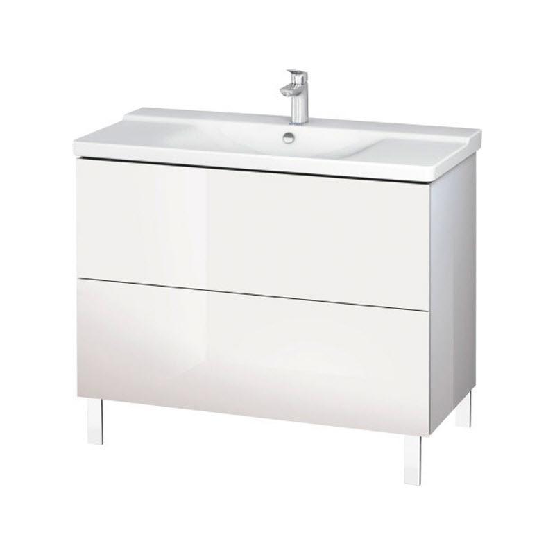 DURAVIT L-CUBE skrinka pod umývadlo stojaca biela LC660202222