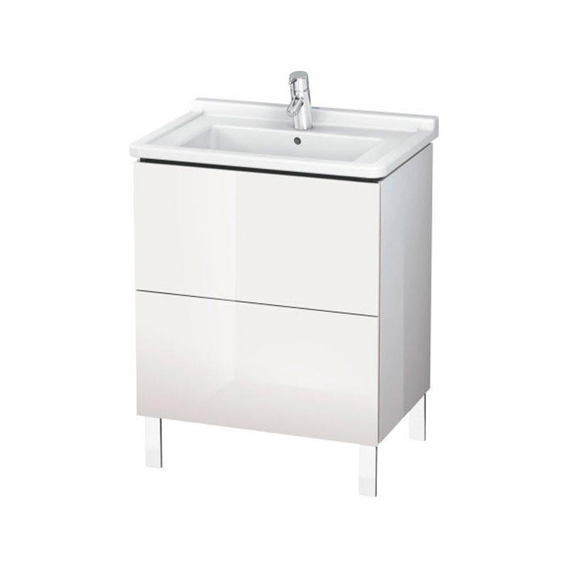 DURAVIT L-CUBE skrinka pod umývadlo stojaca biela LC660802222
