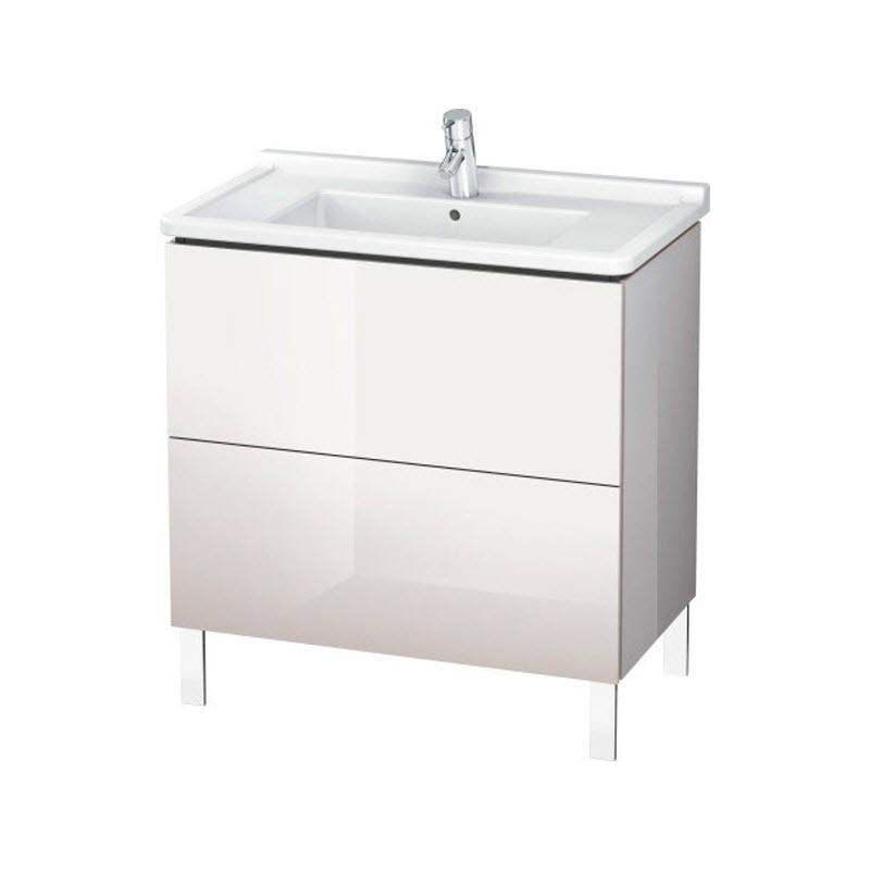 DURAVIT L-CUBE skrinka pod umývadlo stojaca biela LC660902222