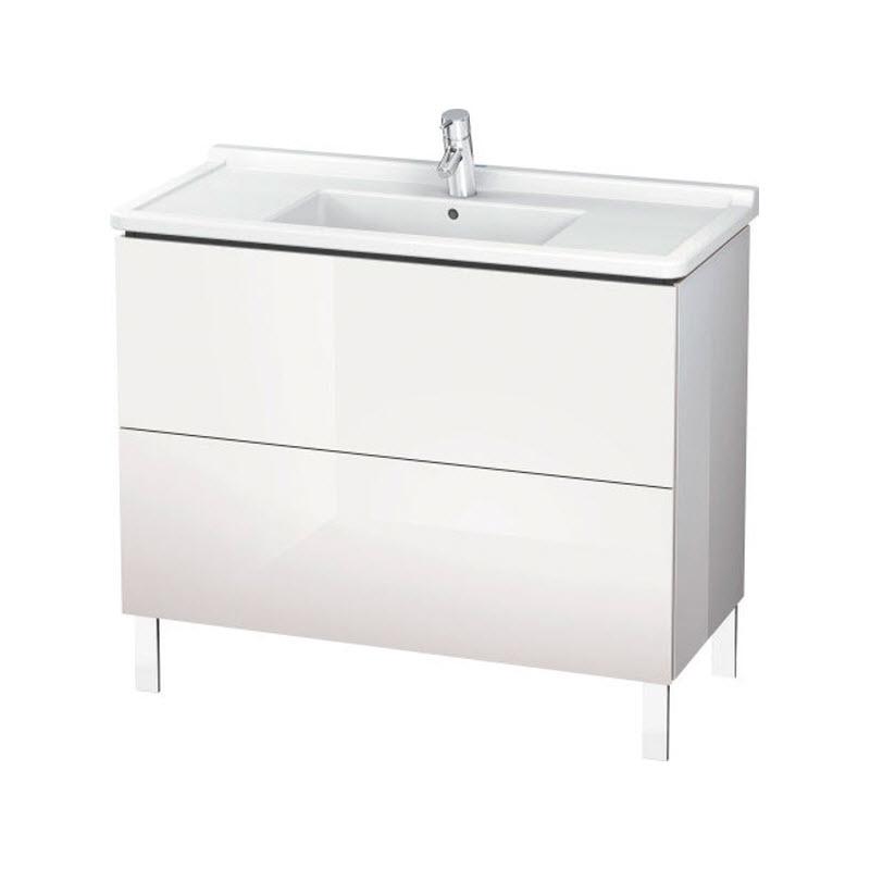 DURAVIT L-CUBE skrinka pod umývadlo stojaca biela LC661002222