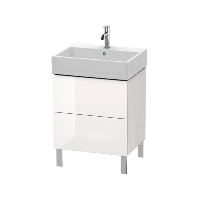 DURAVIT L-CUBE skrinka pod umývadlo stojaca biela LC677502222