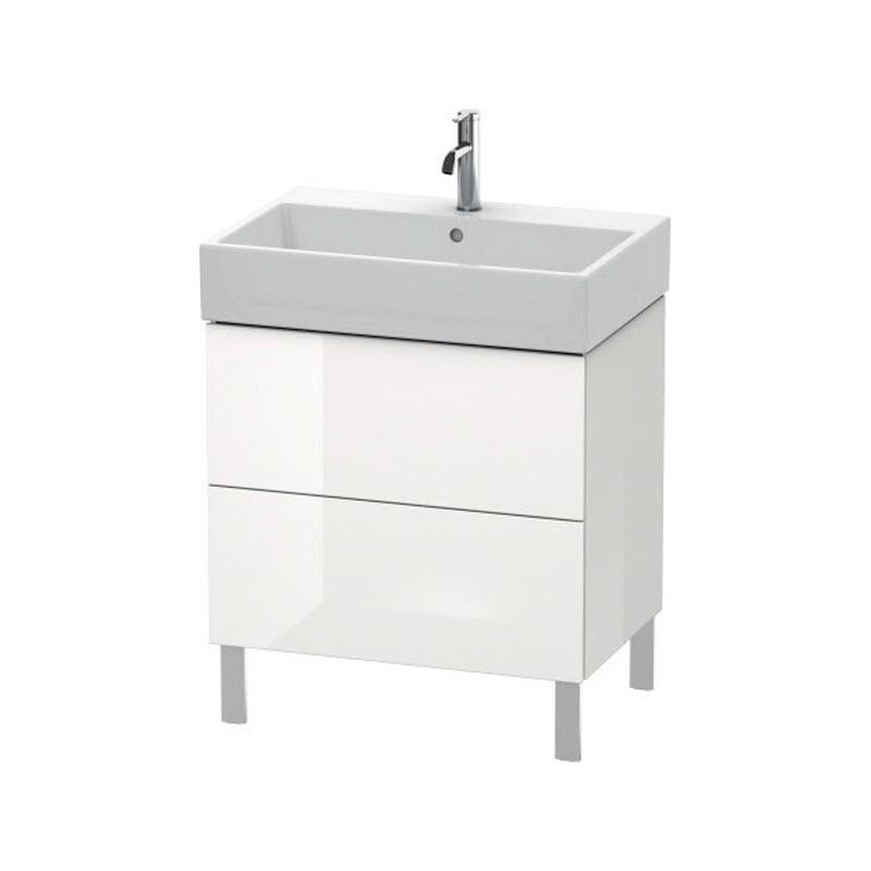DURAVIT L-CUBE skrinka pod umývadlo stojaca biela LC677602222