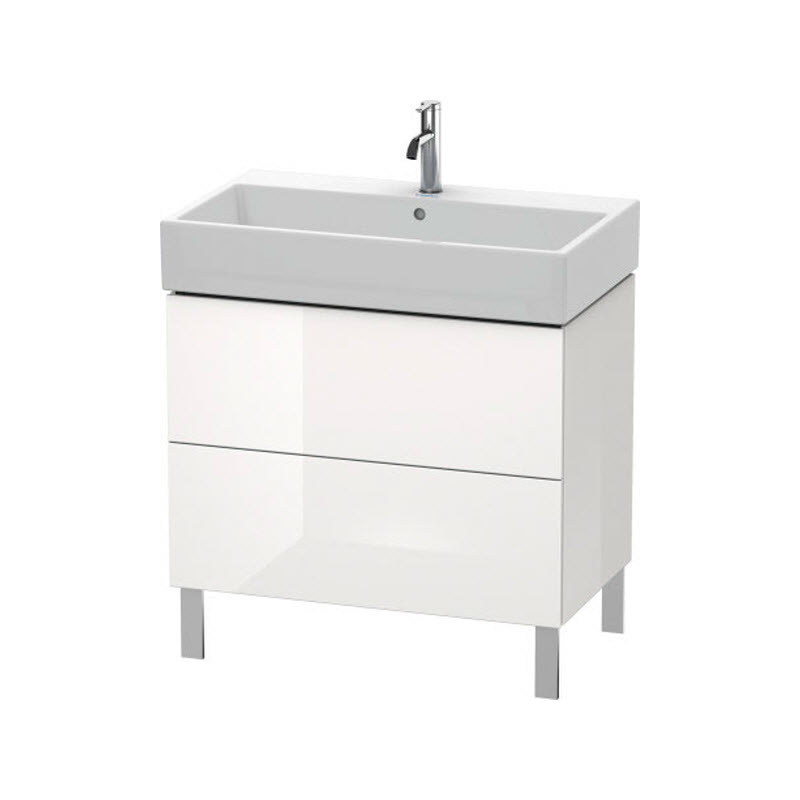 DURAVIT L-CUBE skrinka pod umývadlo stojaca biela LC677702222