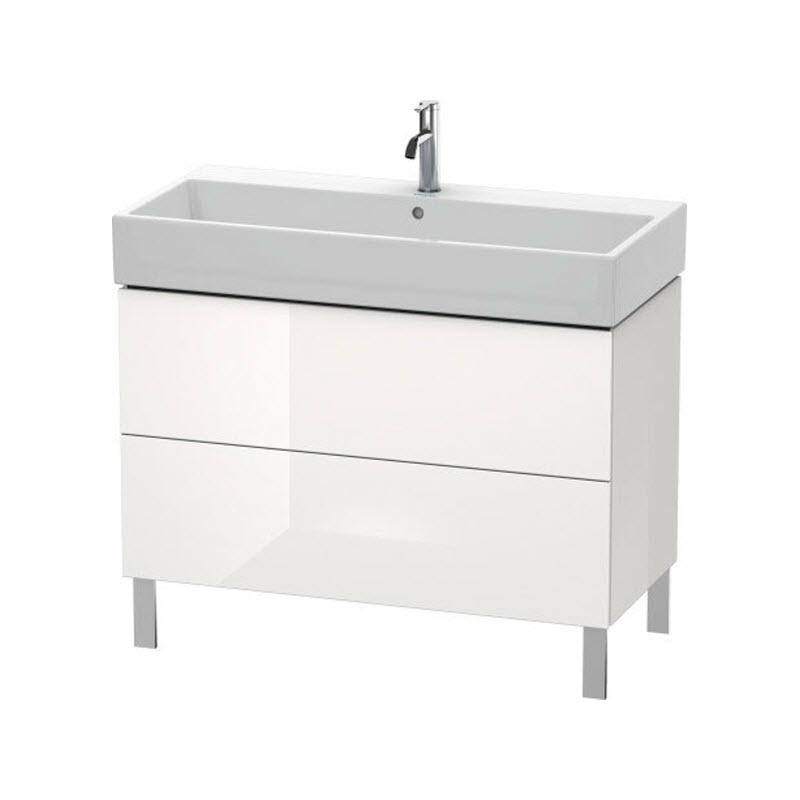 DURAVIT L-CUBE skrinka pod umývadlo stojaca biela LC677802222
