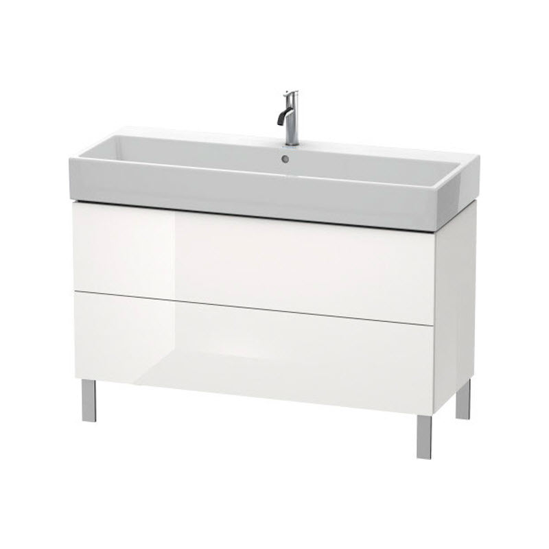 DURAVIT L-CUBE skrinka pod umývadlo stojaca biela LC677902222