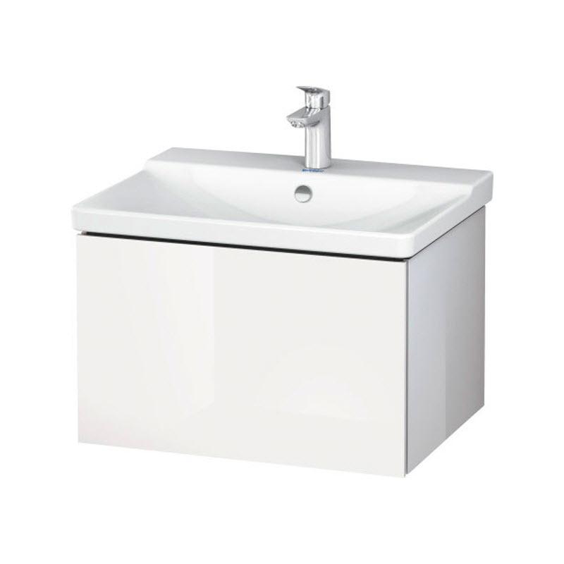 DURAVIT L-CUBE skrinka pod umývadlo závesná biela LC614402222