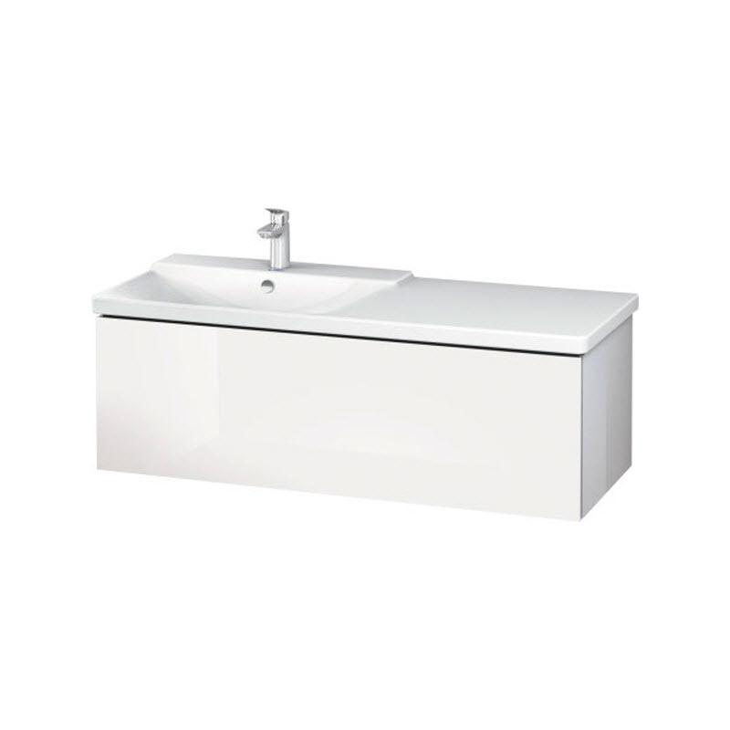 DURAVIT L-CUBE skrinka pod umývadlo závesná biela LC615302222
