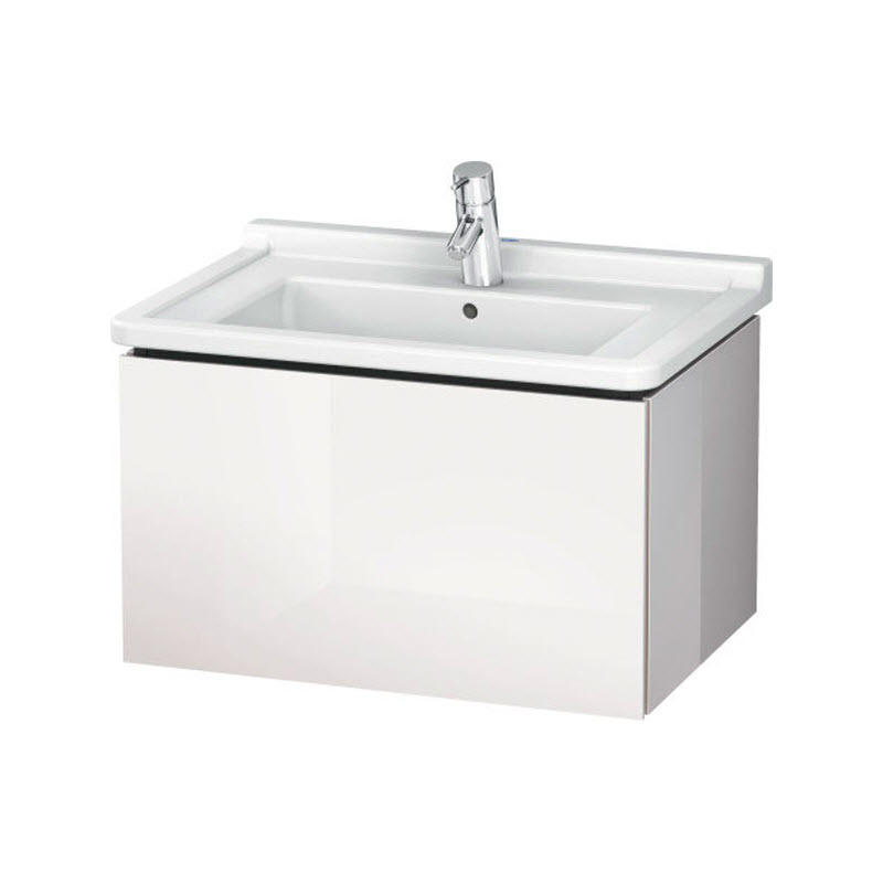 DURAVIT L-CUBE skrinka pod umývadlo závesná biela LC616402222