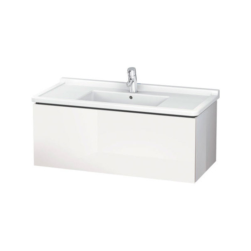 DURAVIT L-CUBE skrinka pod umývadlo závesná biela LC616602222