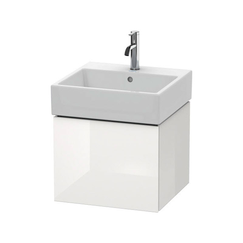 DURAVIT L-CUBE skrinka pod umývadlo závesná biela LC617402222