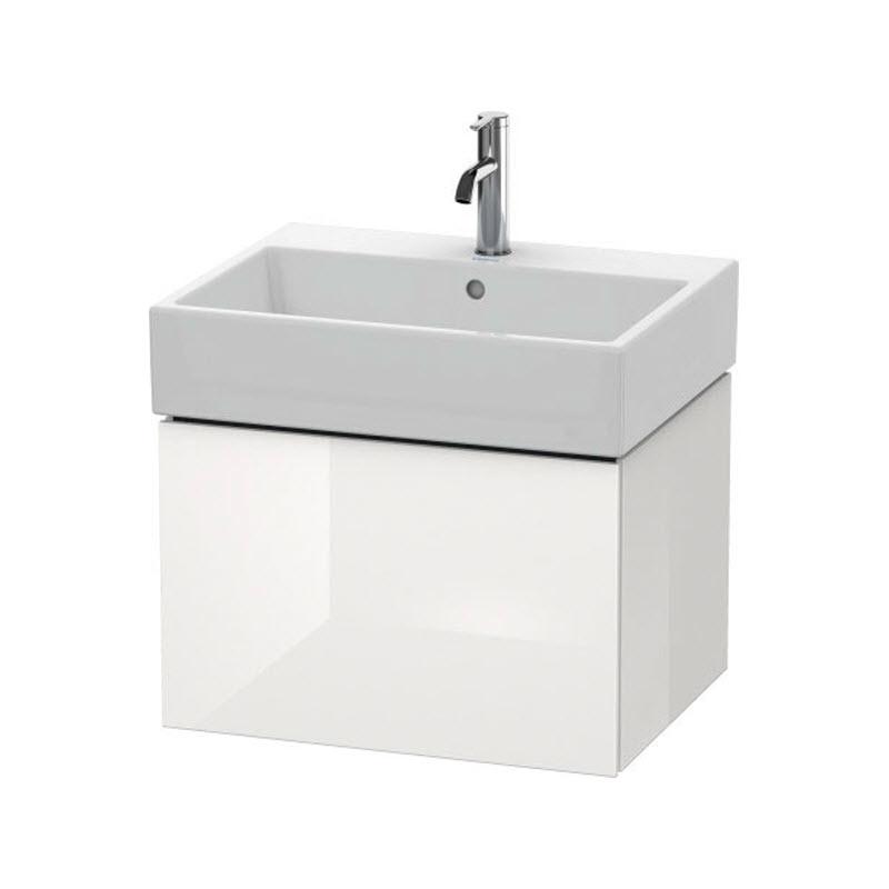 DURAVIT L-CUBE skrinka pod umývadlo závesná biela LC617502222