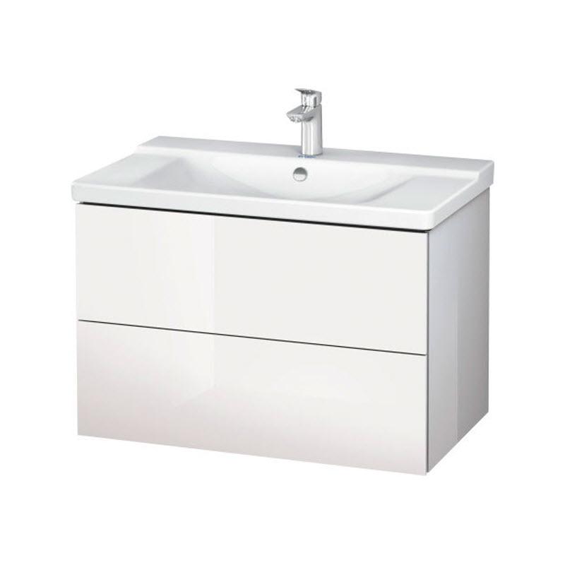DURAVIT L-CUBE skrinka pod umývadlo závesná biela LC624702222