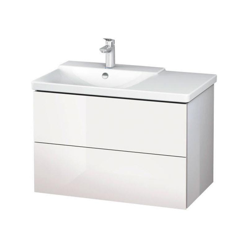DURAVIT L-CUBE skrinka pod umývadlo závesná biela LC624802222