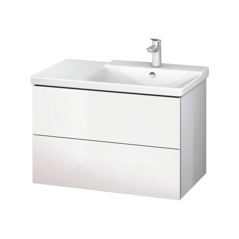 DURAVIT L-CUBE skrinka pod umývadlo závesná biela LC624902222