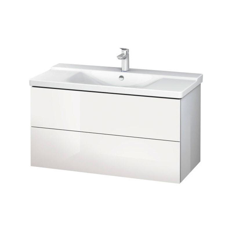 DURAVIT L-CUBE skrinka pod umývadlo závesná biela LC625002222