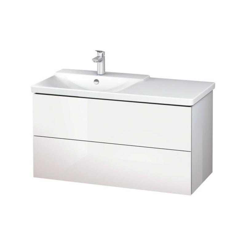 DURAVIT L-CUBE skrinka pod umývadlo závesná biela LC625102222
