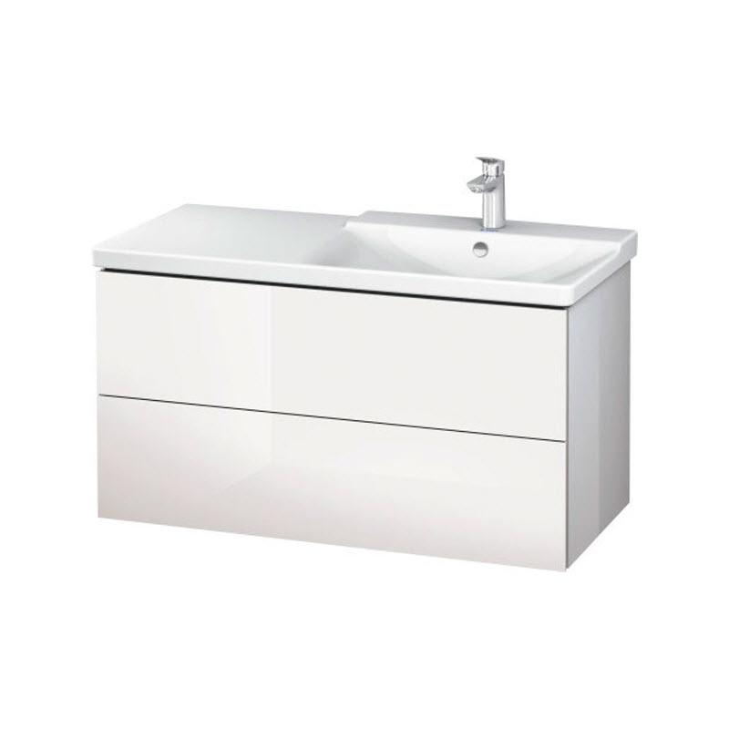 DURAVIT L-CUBE skrinka pod umývadlo závesná biela LC625202222