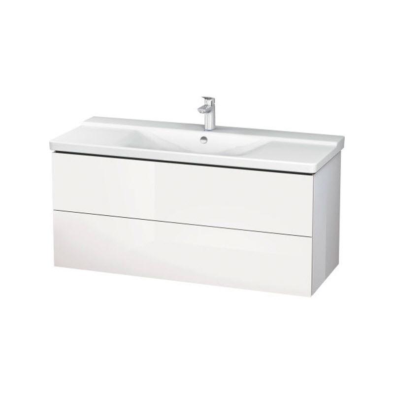 DURAVIT L-CUBE skrinka pod umývadlo závesná biela LC625302222