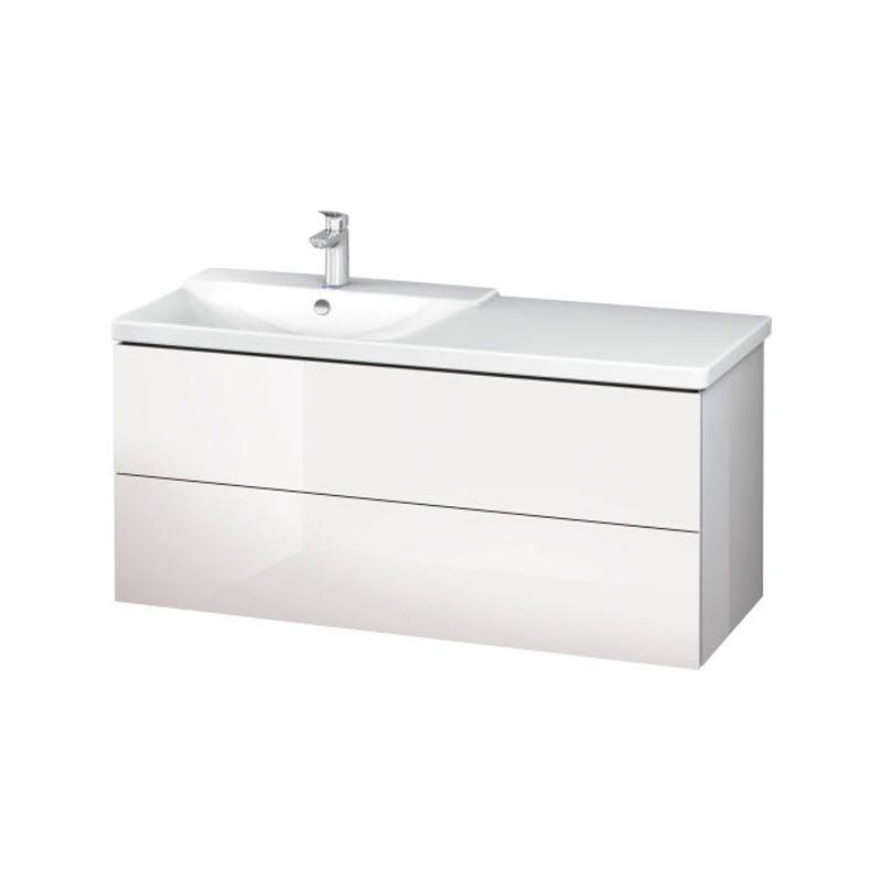 DURAVIT L-CUBE skrinka pod umývadlo závesná biela LC625402222