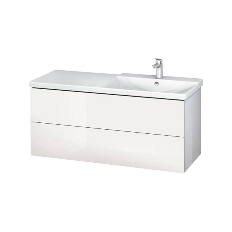 DURAVIT L-CUBE skrinka pod umývadlo závesná biela LC625502222