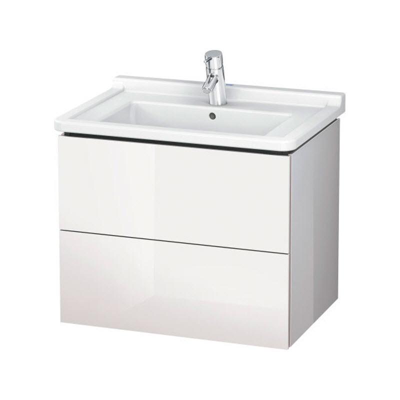 DURAVIT L-CUBE skrinka pod umývadlo závesná biela LC626402222