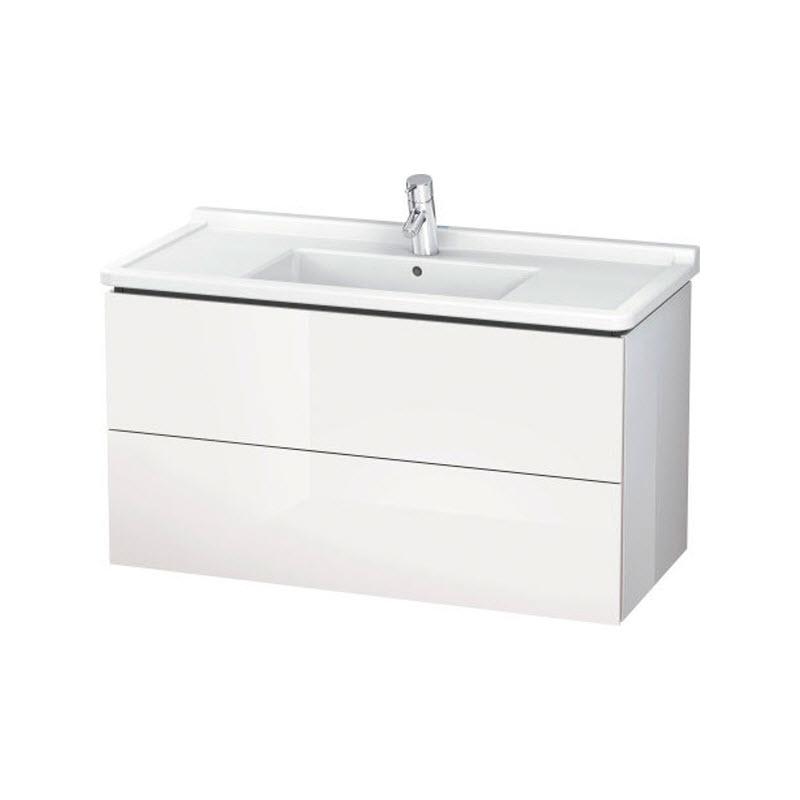 DURAVIT L-CUBE skrinka pod umývadlo závesná biela LC626602222