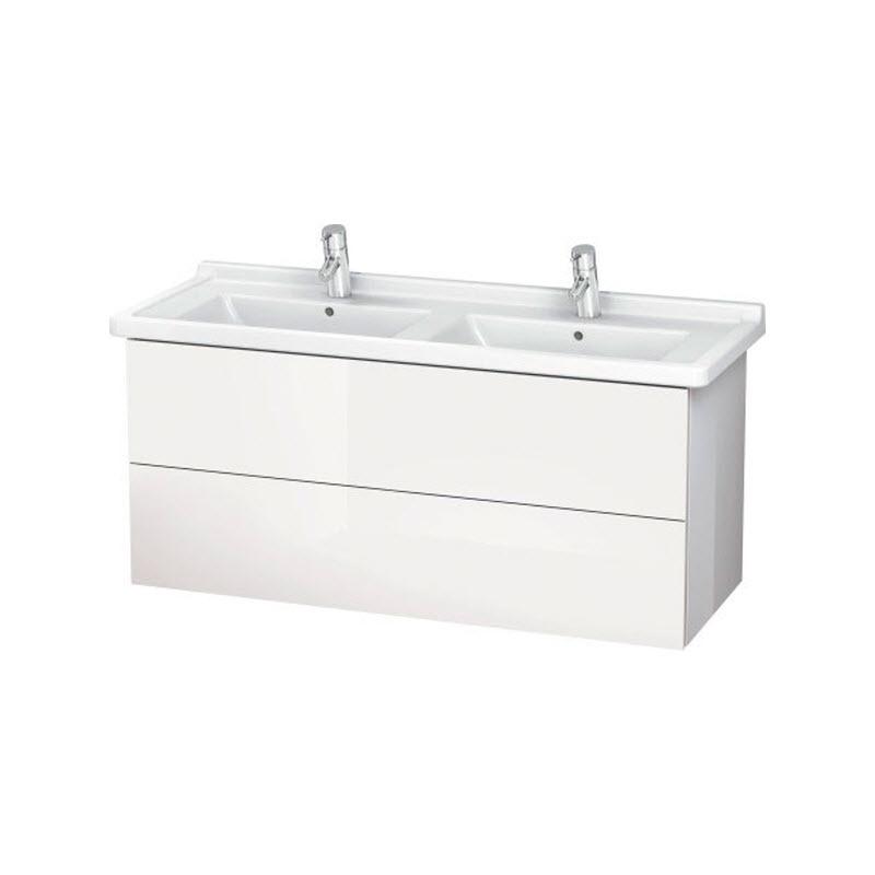 DURAVIT L-CUBE skrinka pod umývadlo závesná biela LC626702222