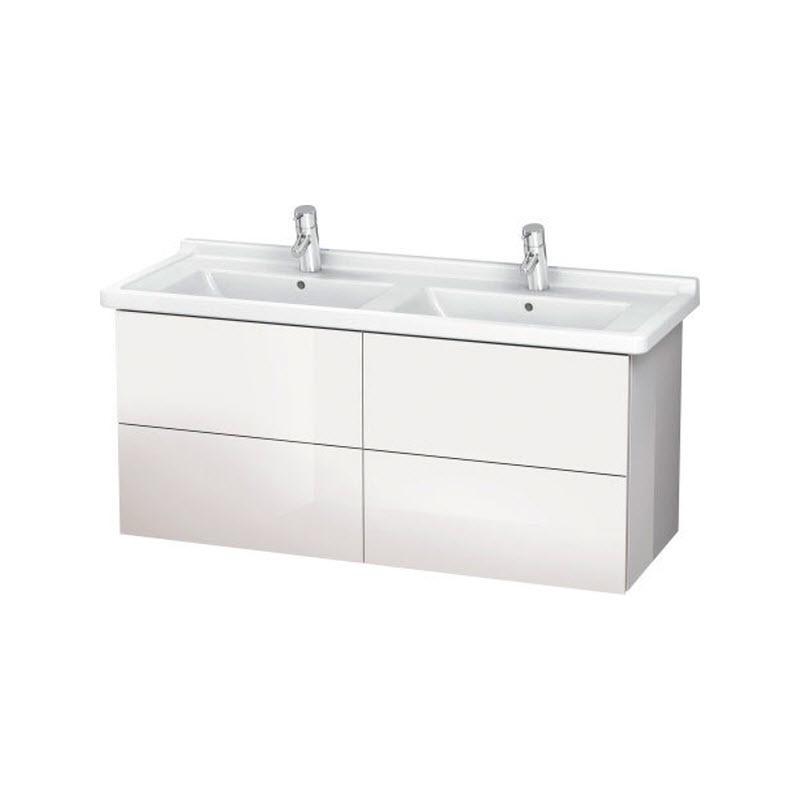 DURAVIT L-CUBE skrinka pod umývadlo závesná biela LC626902222