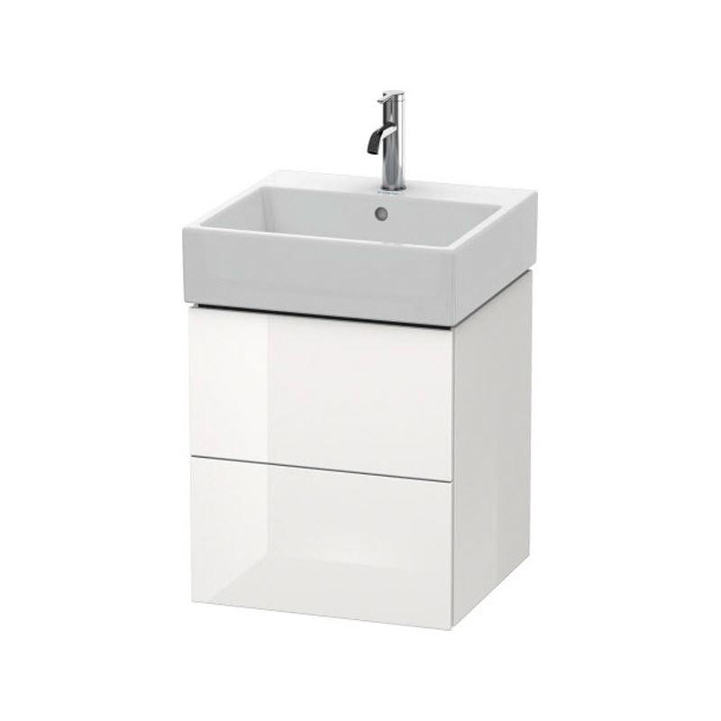 DURAVIT L-CUBE skrinka pod umývadlo závesná biela LC627402222