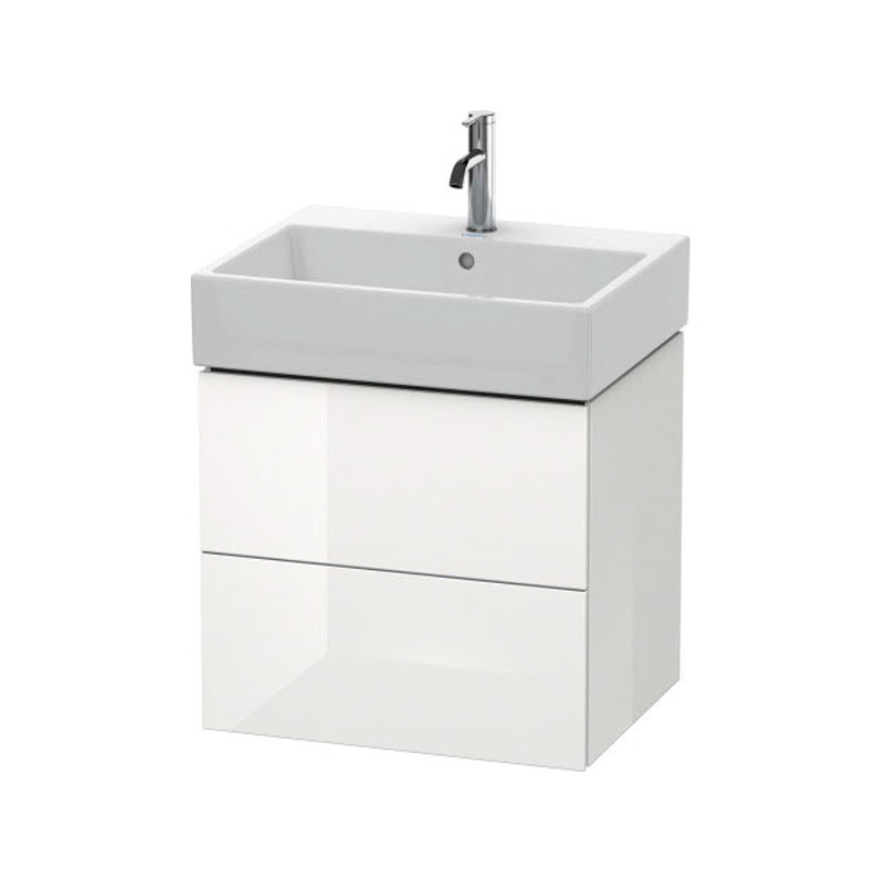 DURAVIT L-CUBE skrinka pod umývadlo závesná biela LC627502222