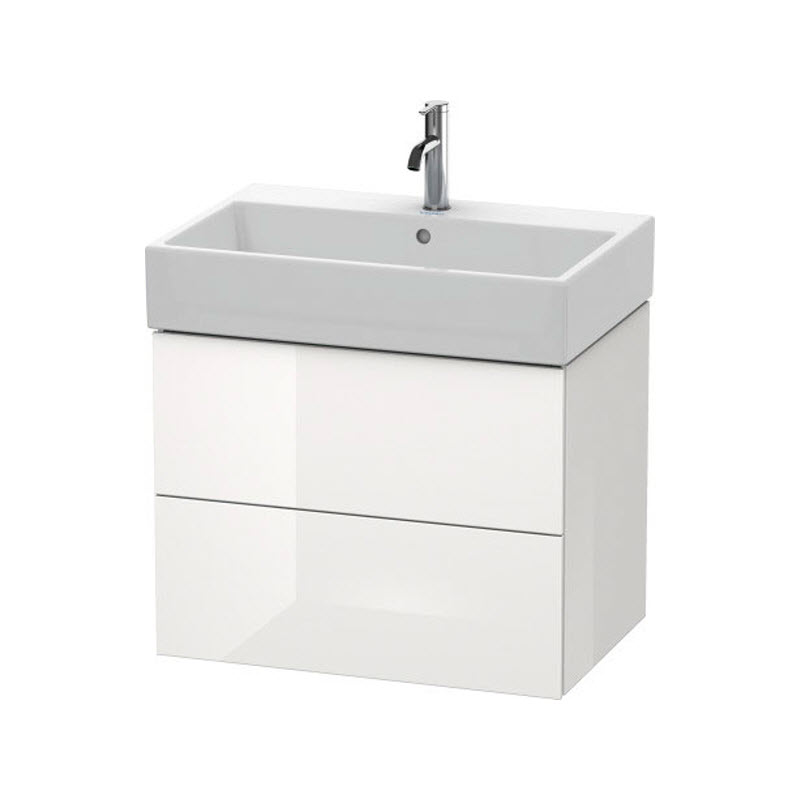 DURAVIT L-CUBE skrinka pod umývadlo závesná biela LC627602222