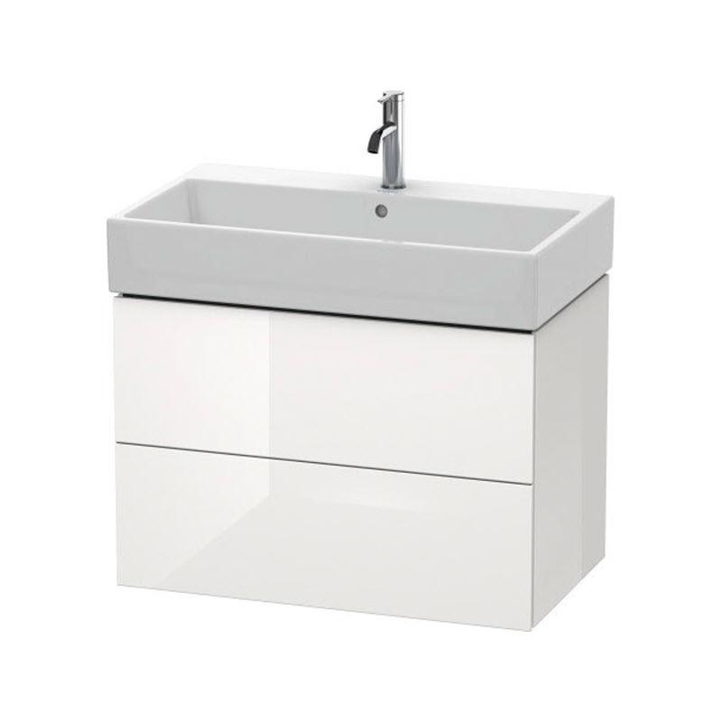 DURAVIT L-CUBE skrinka pod umývadlo závesná biela LC627702222