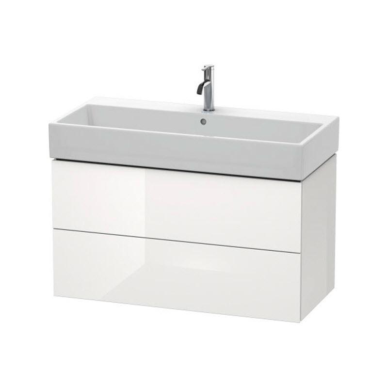DURAVIT L-CUBE skrinka pod umývadlo závesná biela LC627802222