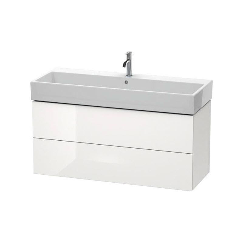 DURAVIT L-CUBE skrinka pod umývadlo závesná biela LC627902222