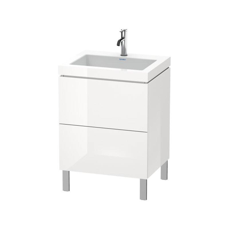 DURAVIT L-CUBE skrinka s umývadlom stojaca biela LC6936O2222